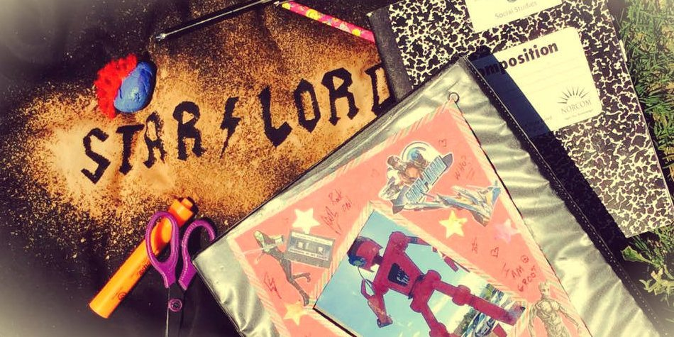 Totally Groovy 'Guardians of the Galaxy 2' Back-To-School Crafts